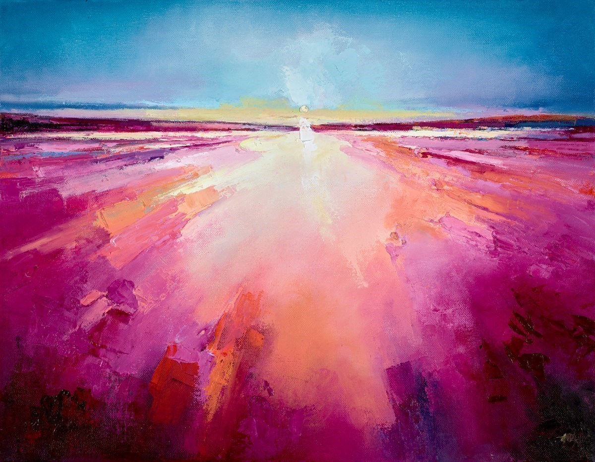 Morning Glow I by Anna Gammans -  sized 14x18 inches. Available from Whitewall Galleries